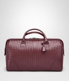 Bottega Veneta Medium Duffle Bag In Barolo Intrecciato Vn Luggage E Fp Best