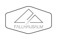 Fallhausalm Logo-Design für die wunderschöne Alm in Forstauwinkel im Salzburger Pongau Grafik Design, Layout, Symbols, Letters, Modern Logo Design, Nice Asses, Elephants, World, Page Layout
