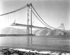 This week in 1930: the War Department issued the final permit to build over the Golden Gate Strait, paving the way for the Golden Gate Bridge to be built. #throwbackthursday Photo via Golden Gate Bridge