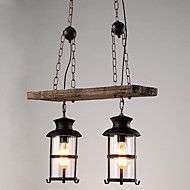 Double+Heads+Industrial+Vintage+Retro+Wooden+Metal+Painting+Color+Chandelier+Lamp+for+the+Home+/+Hotel+/+Garage+Decorate+Lighting+Fixture+–+USD+$+179.54