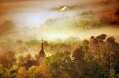 Cloudy mountains by Cornel Pufan