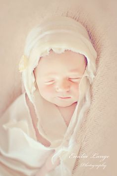 baby bonnet simply from cream cotton fabric by handmadebylululu, $36.00
