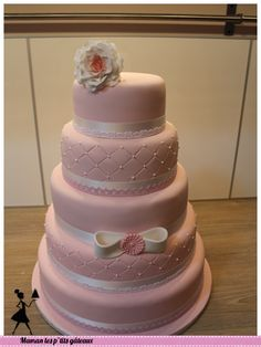 wedding cake rose