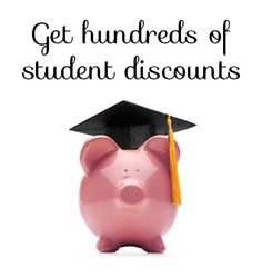How to get hundreds of student discounts in college. Must pin for students. #college #students