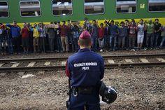 Manifestation de migrants à la gare de Keleti à Budapest, le 4 septembre 2015. (Image source: Mstyslav Chernov/Wikimedia Commons) La République tchèque, la Pologne et la Slovaquie, tous anciens pays communistes, s'opposent également au plan de l'UE qui...