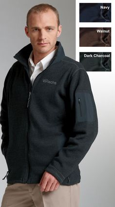 charlesriver fleece jacket custom apparel for business $52.70