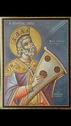 Faith Of Our Fathers, Art Eras, Saints, King David, Byzantine Icons, Old Testament, Orthodox Icons, Kirchen, Worship