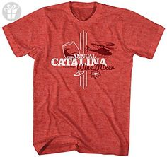 Step Brothers Men's Step Brothers Catalina Wine Mixer Graphic T-Shirt, Heather Red, Small (*Amazon Partner-Link)