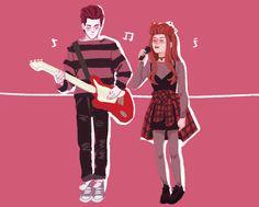 ➶➴➶➴➶hades and persephone grunge band au lmao