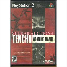 Tenchu: Wrath of Heaven Play Station 2 Game disc PS2 PS/2 NTSC U/C Used 047875804210 on eBid Canada