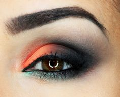 Daria Kłosowicz beauty blog: Black and Orange