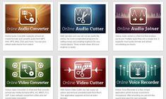 123apps, colección de utilidades online para editar audio y vídeo