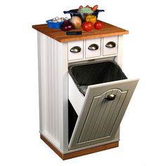 @Overstock - Venture Horizon Butcher Block Bin - A great addition to any kitchen, this bin is constructed of durable, easy to clean, stain resistant, melamine laminated particle board incorporating a solid hardwood cutting board top.    http://www.overstock.com/Home-Garden/Venture-Horizon-Butcher-Block-Bin/7600276/product.html?CID=214117  CAD              184.88