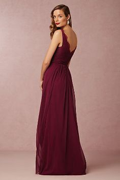 Fleur Dress  Love the pink for brides maid dresses
