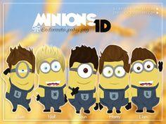 Minions 1D by iCrayolaa