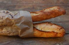 Breakfast baguettes