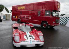 Ferrari transporter.