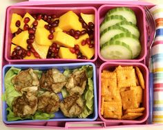 This is one in the Laptop Lunch Pool on Flickr. Not paleo but lots of good ideas regardless. Look in the pool that this lunch is a part of for a ton of ideas!  #lunchbox #kids #bento