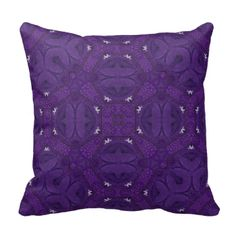 Purple Abstract hexagon pattern with a square pattern in the middle.