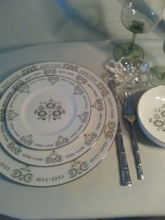 Franciscan Heritage Dinnerware by tabletune on Etsy, $65.00