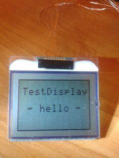 Display from Nokia first test ( Display vom Nokia Handy erster Test )