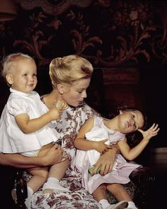 Grace with Albert and Caroline