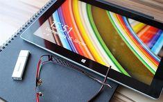 Télécharger fonds d'écran Microsoft Surface Pro 3, 4k, close-up, la Surface Pro 3, ordinateur portable, Microsoft