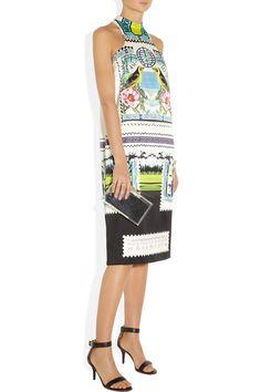 Mary Katrantzou Rodizio printed silk-twill dress NET-A-PORTER.COM