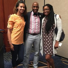 Always good to run into good people. Simone was one of my students in high school. She's grown now. Lol. Thanks for coming and enjoying the session! #GenerationalCurseEliminators #NationalYouthAtRiskConference #NationalYouthAtRisk