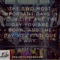 INSPIRED WORDS BY MARK TWAIN