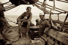 Lamu Dhow - Jason and Captain Dallas
