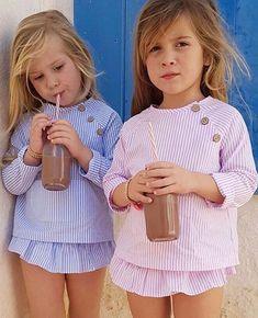 Están ideales con sus conjuntitos de @baby_paris_1 Lovely❤❤•••Si te gusta déjanos un comentario, nos importa!! Gracias!! #modaespañola #modainfantil #ropaespañola #ropainfantil #hechoenespaña #madeinspain #modaespaña #kidsstyle #niñasconestilo #spain #modainfantilchic #kidsfashion #spanishbrand #cutekidsfashion#fashionkids #baby #babygirl #sweetbaby #babyfashion #childrensfashion #cutekidsclub #instababy #littlebaby #modainfantilespañola #modainfantilmadeinspain