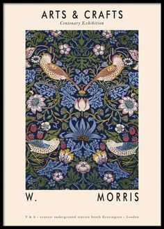 Poster Shop, Wall Prints, Poster Prints, Buy Prints, Gold Poster, William Morris Art, Kunst Poster, Exhibition Poster, Inspirational Wall Art