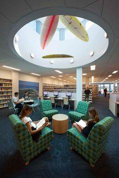 Malibu Library - California EUA