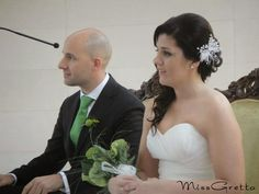 Tocado de novia perlas