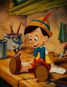 Walt Disney Masterpiece Pinocchio Commemorative Exclusive 1993 Lithograph NEW Disney Pixar, Pinocchio Disney, Film Disney, Disney Art, Walt Disney Cartoons, Walt Disney Characters, Walt Disney Animation, Funny Disney, Disney Dream