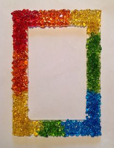 Glass Frit Picture Frame