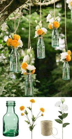 Elegant outdoor wedding decor ideas on a budget 64