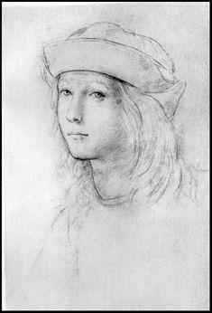 Raphael, Self-portrait.:
