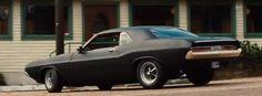 1970 Dodge Challenger Matte Black