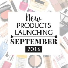 Products Popping Up – September 2016