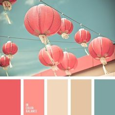 Would be a lovely color palette for a nursery! ~ A palette consisting of rather calm tones. Pink and coral match the turquoise splendidly, without creating a significant contrast, while beige and pale bro. Colour Pallette, Color Palate, Colour Schemes, Color Patterns, Color Combinations, Coral Color Palettes, Summer Colour Palette, Bright Colour Palette, Ocean Color Palette