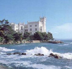 miramare castle, trieste, italy. we spent an hour or so exploring the grounds. amazing!
