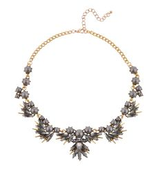 BLACK PEARL RHINESTONE NECKLACE Reference:  A15051033