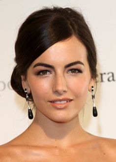 Camilla Belle's simple up-do is sophisticated and classy, ready to walk the red carpet or an afternoon of shopping.