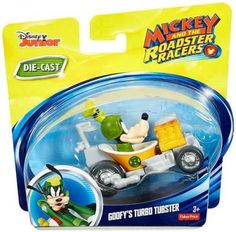 Mickey and the Roadster Racers Die-Cast Goofy's Turbo Tubster