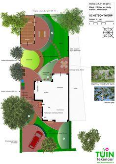 Natuurlijke tuin vol kleuren insecten en vitaminen for Tuinontwerp schuine lijnen