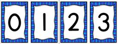Picture Numbers, Pictures, Numeracy, Drawings, Clip Art