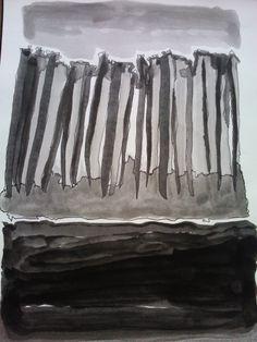 Sem titulo. Tinta da China sob papel. Dimensão: A3 p.v.p. 60€