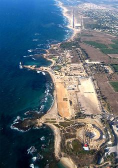 Caesarea, Israel. My favorite place by far to pick up shells on the Israeli coast.